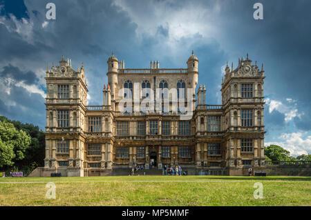 Wollaton Hall, Nottingham, UK. - Stock Image