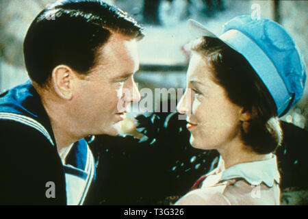 IN WHICH WE SERVE 1942 British Lion film with John Mills and Kay Walsh - Stock Image