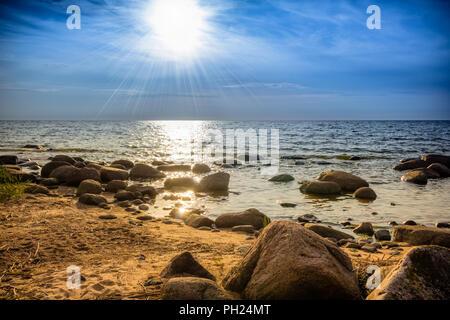 Rocky beach - Stock Image