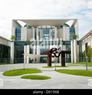 Federal Chancellery government building in Berlin Germany - Stock Image