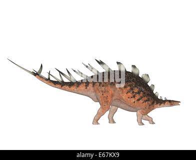 Dinosaurier Kentrosaurus / dinosaur Kentrosaurus - Stock Image