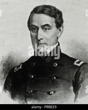 Major Robert Anderson - Commander of Fort Sumter, 1860 - Stock Image