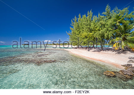 Tikehau (French Polynesia) - Stock Image