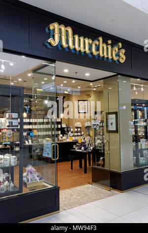 Murchie's Tea & Coffee store in Park Royal South shopping mall, West Vancouver, BC, Canada - Stock Image