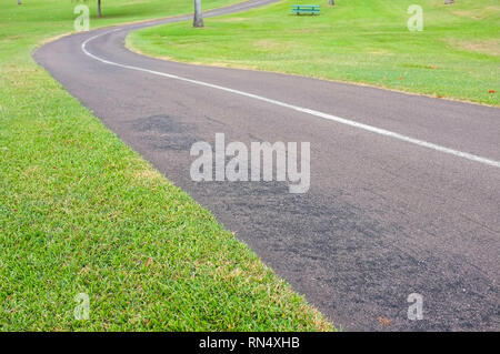 Walking and cycling track along East Point, in Darwin, Northern Territory, Australia. - Stock Image
