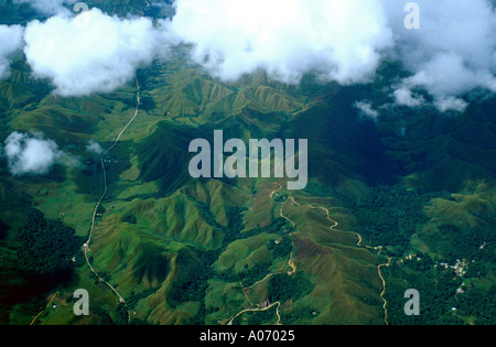 Amazon Jungle in Venezuela from the Air - Stock Image