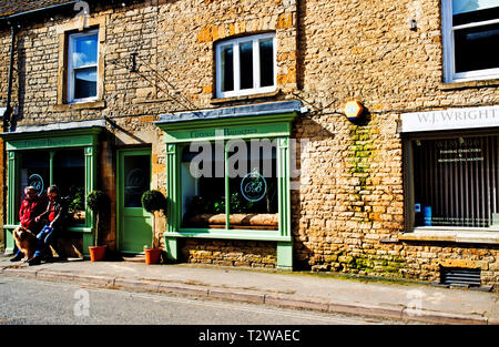 Baquettes Store, Stow on the Wold, Cotswolds, Gloucestershire, England - Stock Image
