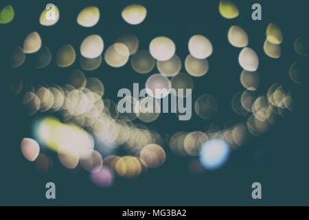 Abstract Bokeh Background in Vintage Style. - Stock Image