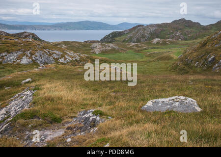 Ireland landscape with scenic view - Stock Image