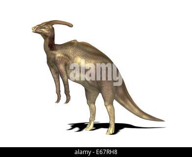 Dinosaurier Parasaurolophus / dinosaur Parasaurolophus - Stock Image