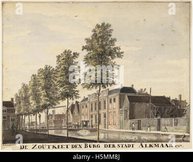 Oudegracht 1797 258 - Stock Image