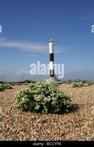 The New Lighthouse, Dungeness, Kent, UK - Stock Image