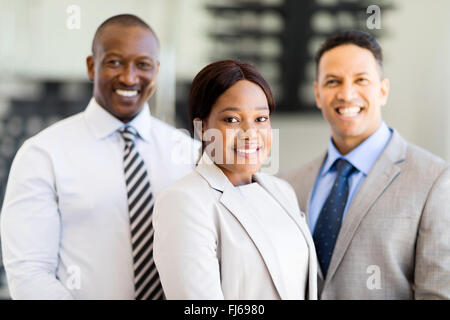 group of successful multiracial business team - Stock Image