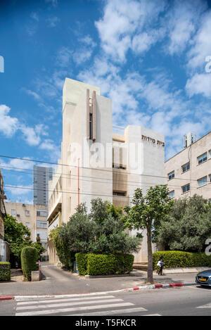 Israel, Tel Aviv-Yafo - 20 April 2019: Beit midot - Stock Image