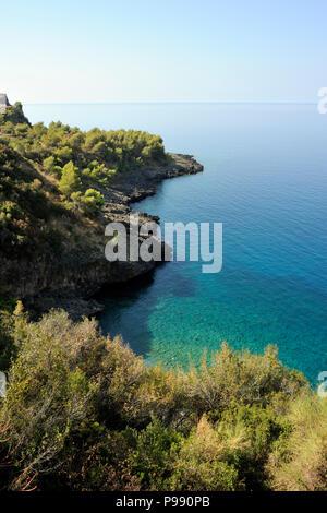 italy, basilicata, maratea, acquafredda - Stock Image