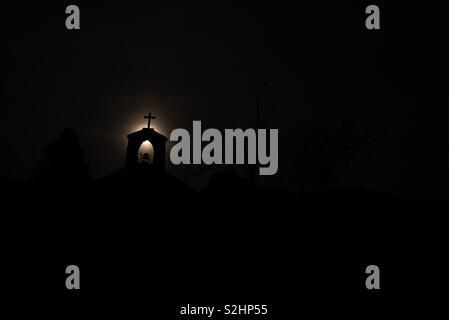 Minimalist nightshot - Stock Image