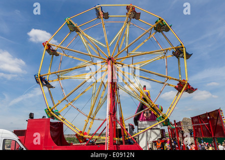 Ferris Wheel at Funfair - Stock Image