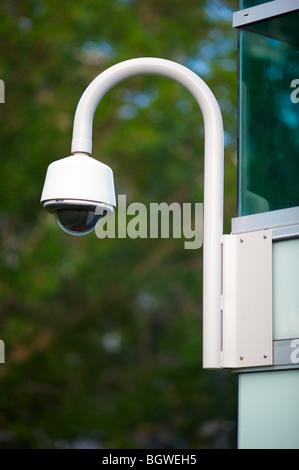 Outdoor cctv security camera - Stock Image