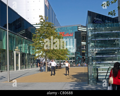 Stratford City Shopping Mall, Westfield East. Olympic Park E20 - Stock Image