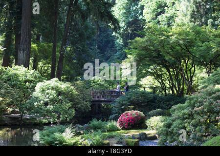 in Portland, Oregon, USA. - Stock Image