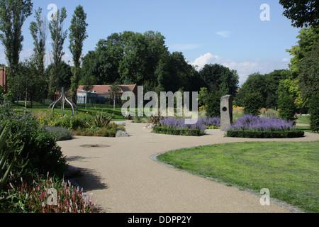 Barnes Park, Sunderland, Tyne and Wear - Stock Image