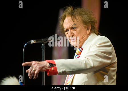 Hay on Wye, Wales, UK. 1st June 2017. Hay Festival 2017. Legendary comedian Sir Ken Dodd performing The Ken Dodd - Stock Image