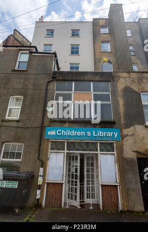 Children Library at Hastings, East Sussex, England , UK - Stock Image