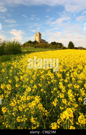 Edlesbrough Church - Stock Image