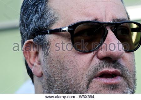 mino raiola, sports attorney - Stock Image