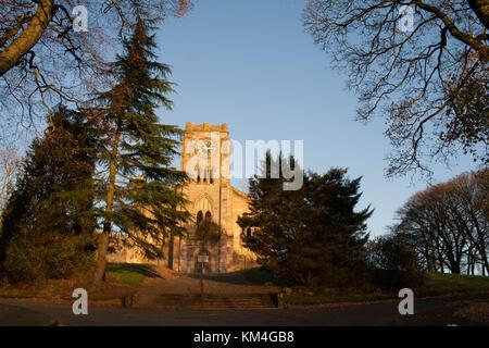 Lennoxtown Church, Scotland - Stock Image