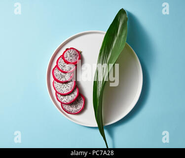 dragon fruit,pitahaya,pitaya - Stock Image