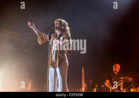 Florence and the Machine - Live Performance - Alexandra Palace - London - Stock Image