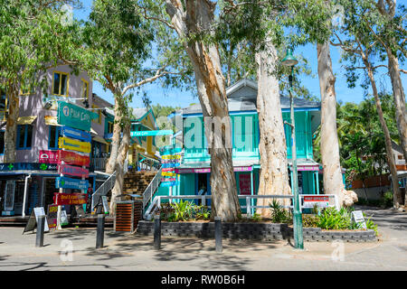 Palm Cove Shopping Village, Far North Queensland, QLD, FNQ, Australia - Stock Image