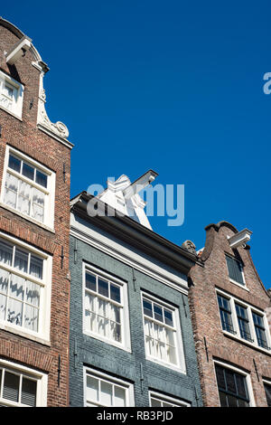 Traditional architecture in Amsterdam, the Netherlands - Stock Image