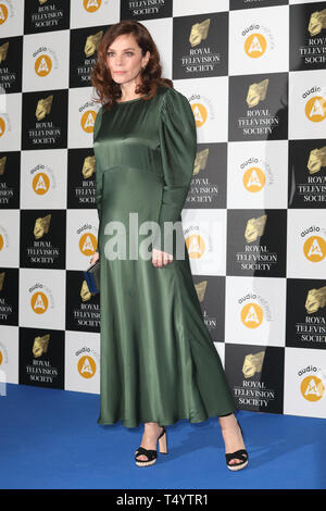 The Royal Television Society Awards (RTS Awards) 2019 held at Grosvenor House Hotel - Arrivals  Featuring: Anna Friel Where: London, United Kingdom When: 19 Mar 2019 Credit: Lia Toby/WENN.com - Stock Image