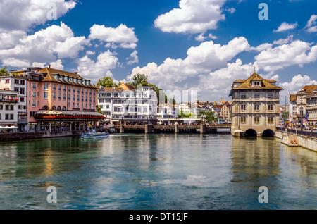 Zurich lake, Switzerland - Stock Image