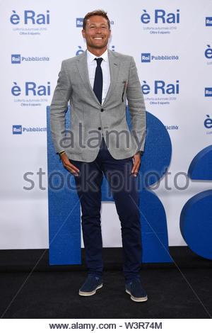 Massimiliano Ossini milano, 13-07-2019 - Stock Image