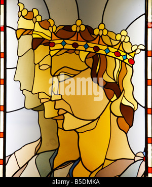 Frederick II became Holy Roman Emperor 1220,was  born 1194 in Jesi,   Le Marche ,Italy where today a luxury hotel - Stock Image
