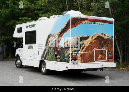 Cruiseamerica rental motorhome. - Stock Image