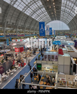 olympia exhibition centre london - Stock Image