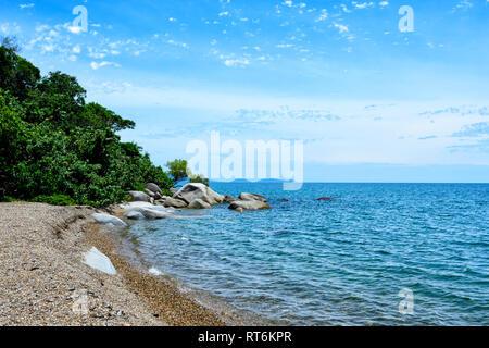 View of Quarantine Bay, Cooktown, Far North Queensland, QLD, FNQ, Australia - Stock Image