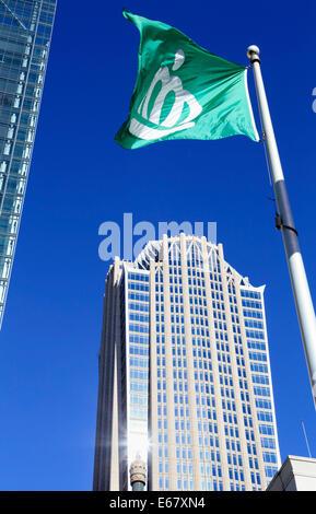 Charlotte, North Carolina, NC. Hearst Tower. - Stock Image