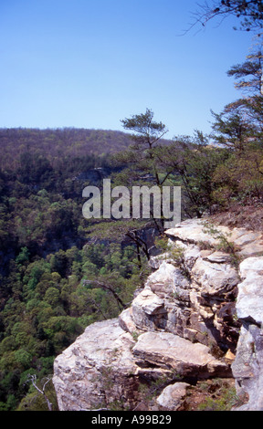 Cloud Land Canyon Georgia - Stock Image