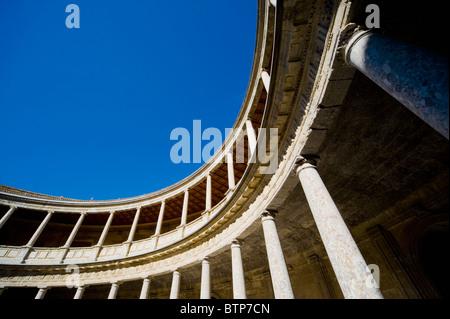 Museum of Fine Arts, Alhambra Palace, Granada, Andalucia, Spain - Stock Image