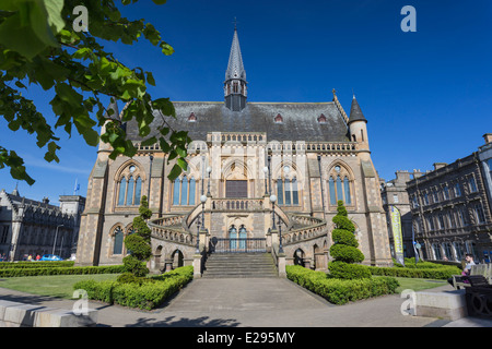 The McManus Art Gallery Museum Dundee Tayside Scotland - Stock Image