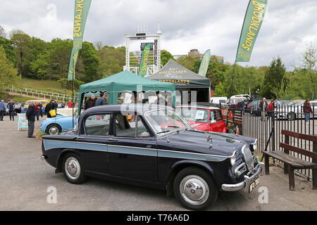 Singer Gazelle lll (1962), British Marques Day, 28 April 2019, Brooklands Museum, Weybridge, Surrey, England, Great Britain, UK, Europe - Stock Image