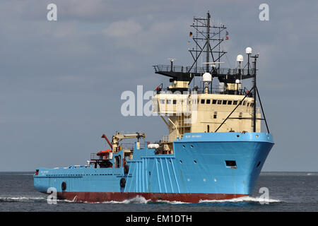 Offshore Tug Blue Antares - Stock Image