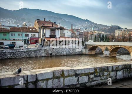 Old Town, Sarajevo, Bosnia and Herzegovina - Stock Image