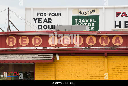 Red Iguana Mexican Restaurant - Salt Lake City - Utah - Stock Image