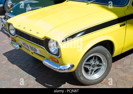 Mk1 Ford Escort Mexico classic British Sports Car UK - Stock Image